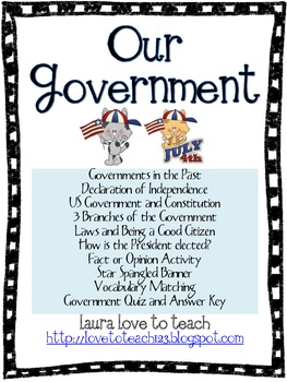 Government Unit Grades 2-4