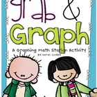 Grab & Graph:  A Graphing Math Station Activity