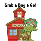 Grab a Bag and Go! Phonemic Awareness Homework Packets Book 4