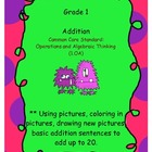 Grade 1 Addition: Operations and Algebraic Thinking comple