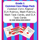 Grade 1 Common Core Standards Mega Pack