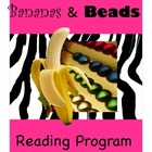 Grade 1 Jungle Themed Home Reading Program, Book Beads, Re