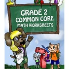 Grade 2 Common Core Math Worksheets: Operations & Algebrai