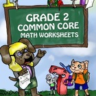 Grade 2 Common Core Math Worksheets Operations & Algebraic