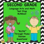 Grade 2 Lang. Arts/Math Test Prep Bundle - Standardized Te