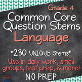 Grade 4 CCSS Reading/Literacy: Language Annotated Standard