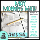 Grade 3 Morning Math Review: May