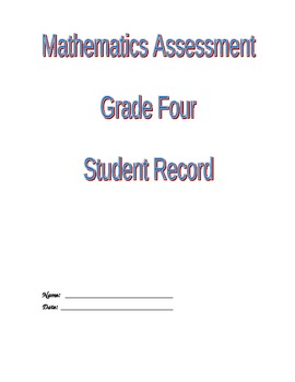 Grade 4 Math Assessment