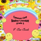 Grade 5 Common Core Reading/Literature  &quot;I Can&quot; Statements