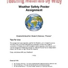 Grade 5 Science: Forces of Nature Weather Safety Assignmen