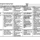 Grade 6 Graphing Project Rubric - Ontario
