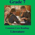 Grade 7 Common Core Reading: Literature -- The Math Competition