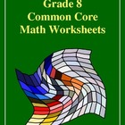 Grade 8 Common Core Math Worksheets: Geometry 8.G 5 #2