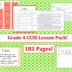 Grade Four Common Core Lesson Pack - Designer Dots