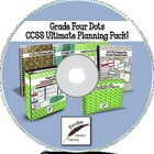 Grade Four Dots CCSS Ultimate Planning Pack on CD