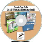 Grade One Dots CCSS Ultimate Planning Pack on CD