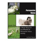 Grade One LA Lesson Plan: Persuasive Voice & Writing w/ Du