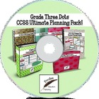 Grade Three Dots CCSS Ultimate Planning Pack on CD