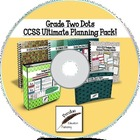 Grade Two Dots CCSS Ultimate Planning Pack on CD