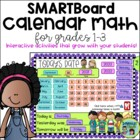 Grades 1-3 Common Core-Aligned Math Calendar