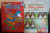 Grades 1-4 Math Place Value & Fractions Books