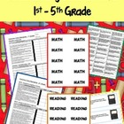 Grades 1 - 5 Documenting Common Core Standards