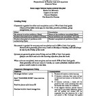 Grading & Policies handout for parents