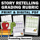 Grading Rubric Assessment: Story Retelling
