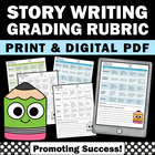 Grading Rubric Assessment: Writing a Story