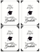 Graduation Congratulations Printable Cards, Inspirational 