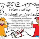 Graduation Goodies and Craftivity!