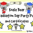 Graduation ~ Koala Bear Graduation Day Party Pack and Grad