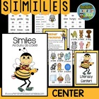 Grammar Center Game &quot;Similes!&quot; Word Work / Writing / Homework