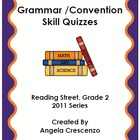 Grammar Convention Quizzes Reading Street, Grade 2, 2011 Series