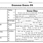 Grammar Grams #4: Snow Day!
