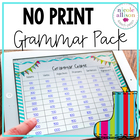 Grammar Pack for Speech and Language