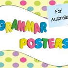 Grammar Posters for Australia in Confetti