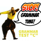 Grammar Practice Test