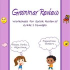 Grammar Quick Review for Grade 1