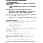 Grammar - Quotation Marks Notes and Worksheet