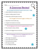 Grammar Review- Pronouns, Adjectives, Verbs, & Nouns!