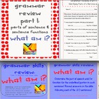Grammar Skills Review COMBO: SmartNotebook and Printable S