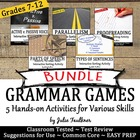Grammar Games Skills Variety Bundle of Worksheet Alternati
