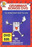 Grammar Songs DVD from Audio Memory/Kathy Troxel
