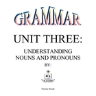 Grammar Unit Three: Understanding Nouns and Pronouns