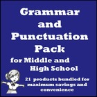 Grammar and Punctuation Pack