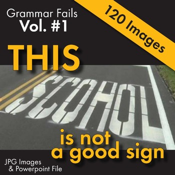 Grammar in Real Life – Catch Proofreading Mistakes in Fun Visual Activity