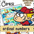 Grammatack Comics! {Ordinal Numbers} Grades 1-2
