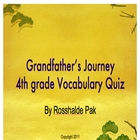 Grandfather's Journey Vocabulary Quiz
