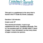 Grandma&#039;s Records Quiz